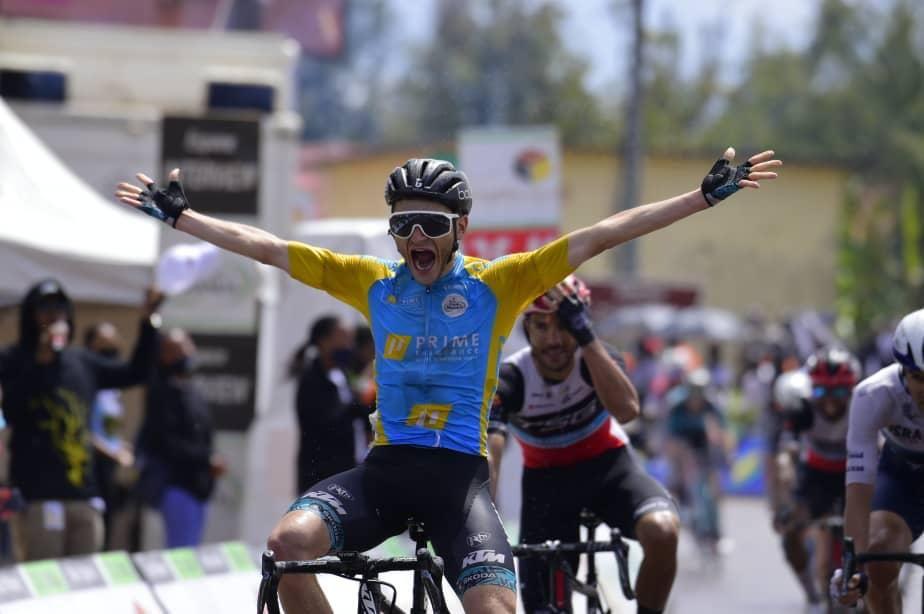 Boileau doubles up on stage 3 of Tour du Rwanda