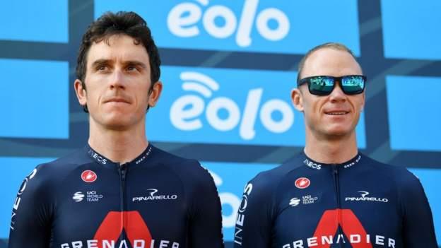 Geraint Thomas en Chris Froome onder fietsers om aan Britse regering te schrijven