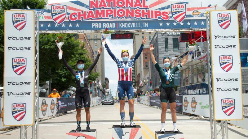 Galería: campeonatos nacionales de carreras de ruta femeninas Pro de Estados Unidos 2021