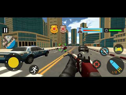 Police Moto Bike Chase Crime Shooting Games #4 | Android Gameplay