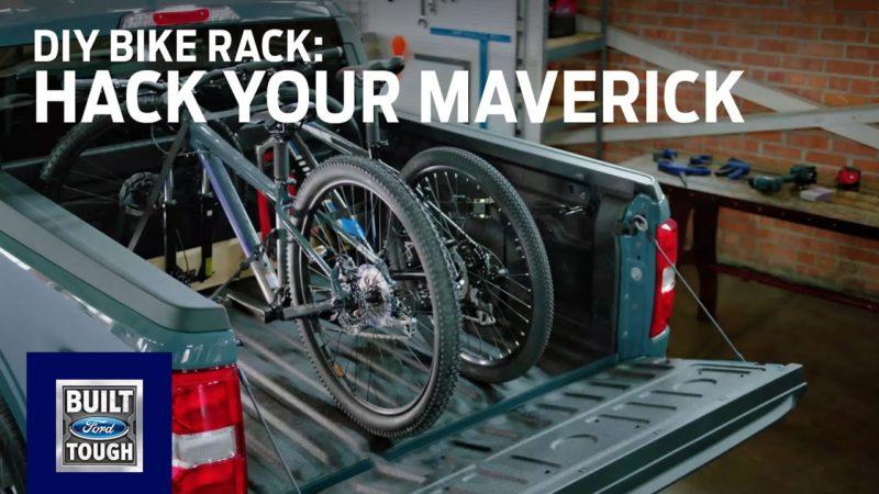 Hack Your Maverick: DIY Bike Rack | The All-New Ford Maverick | Ford