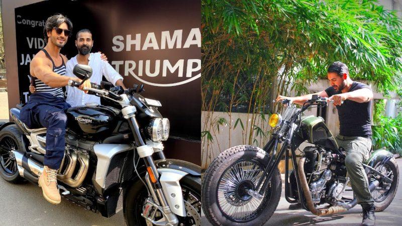 Vidyut Jamwal VS John Abraham Bike Collection