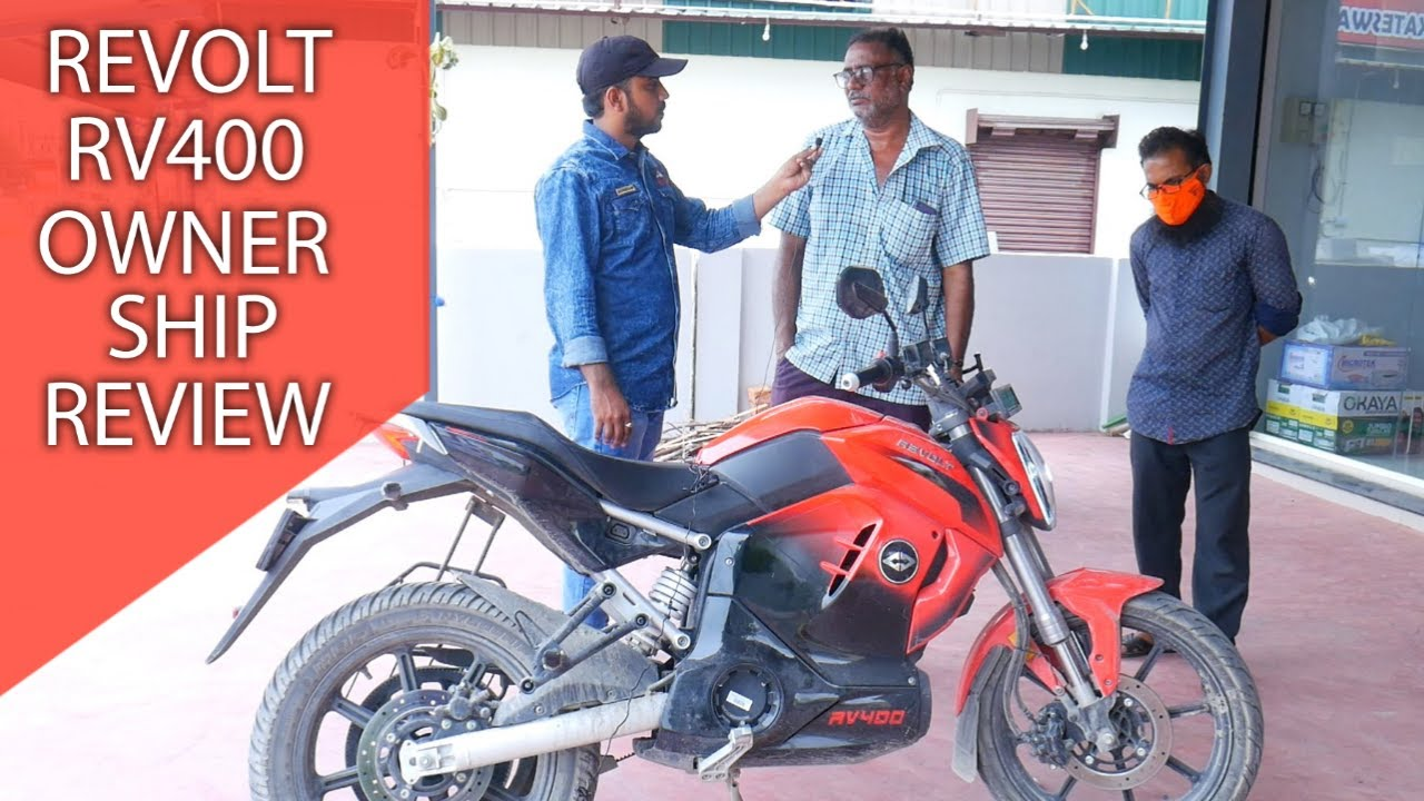 Revolt RV400 Ownership Review in Telugu | Electric Bike | @Prasad Cars Telugu Review