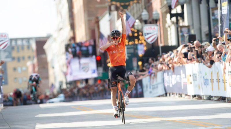 Joey Rosskopf kroonde de Amerikaanse pro nationale wegrace-kampioen 2021