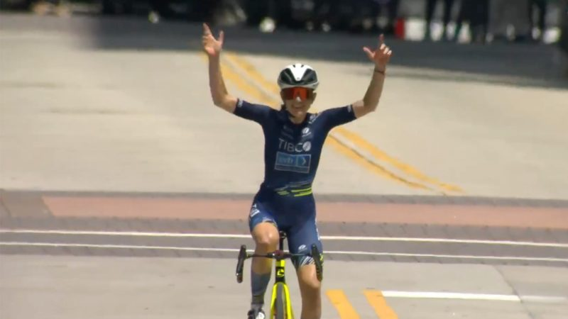 Lauren Stephens solos into 2021 U.S. national road race championship win