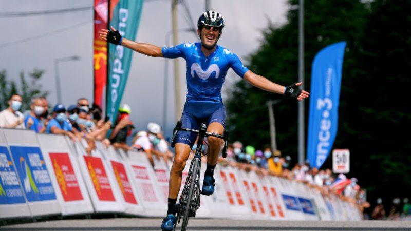 Route d'Occitanie: Antonio Pedrero vinder etape 3