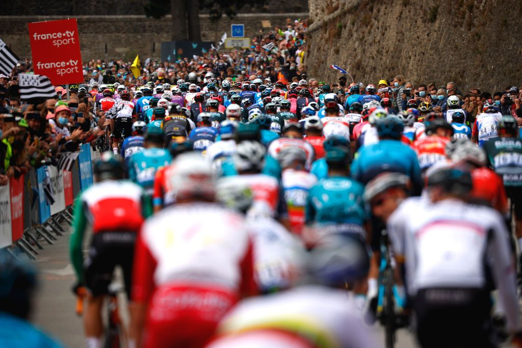 Tour de France: Spectator causes mass crash on stage 1 with Roglic taken down
