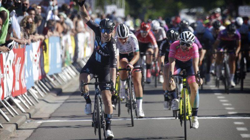 Lorena Wiebes wint Vlaanderen Diamond Tour