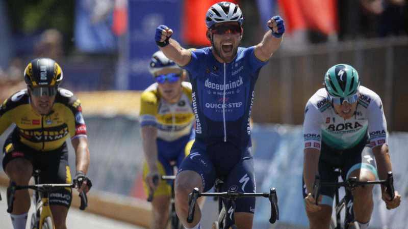 Cavendish proves he can still beat the world's best