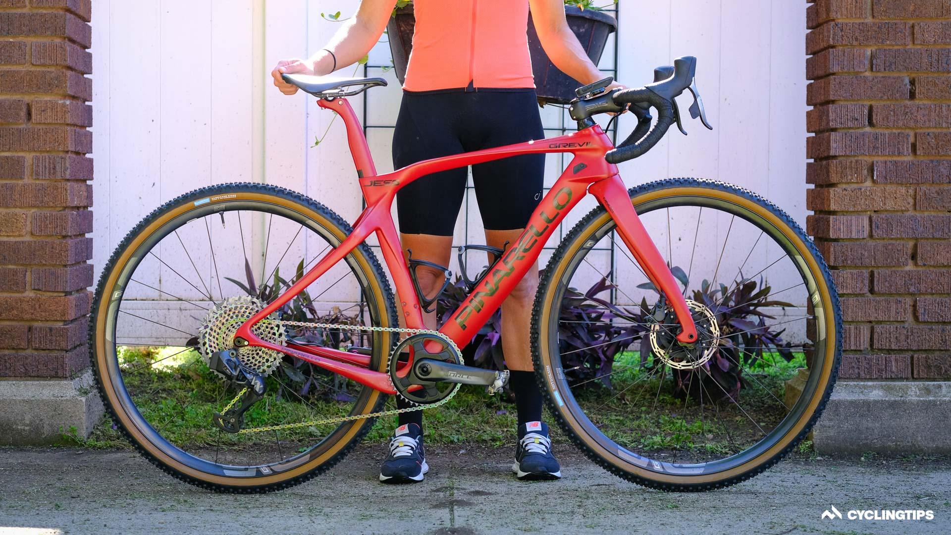 Bikes of Unbound Gravel: Jess Cerras Pinarello Grevil
