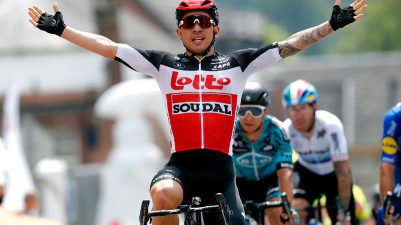 Baloise Belgium Tour: Caleb Ewan survives the climbs to win stage 4