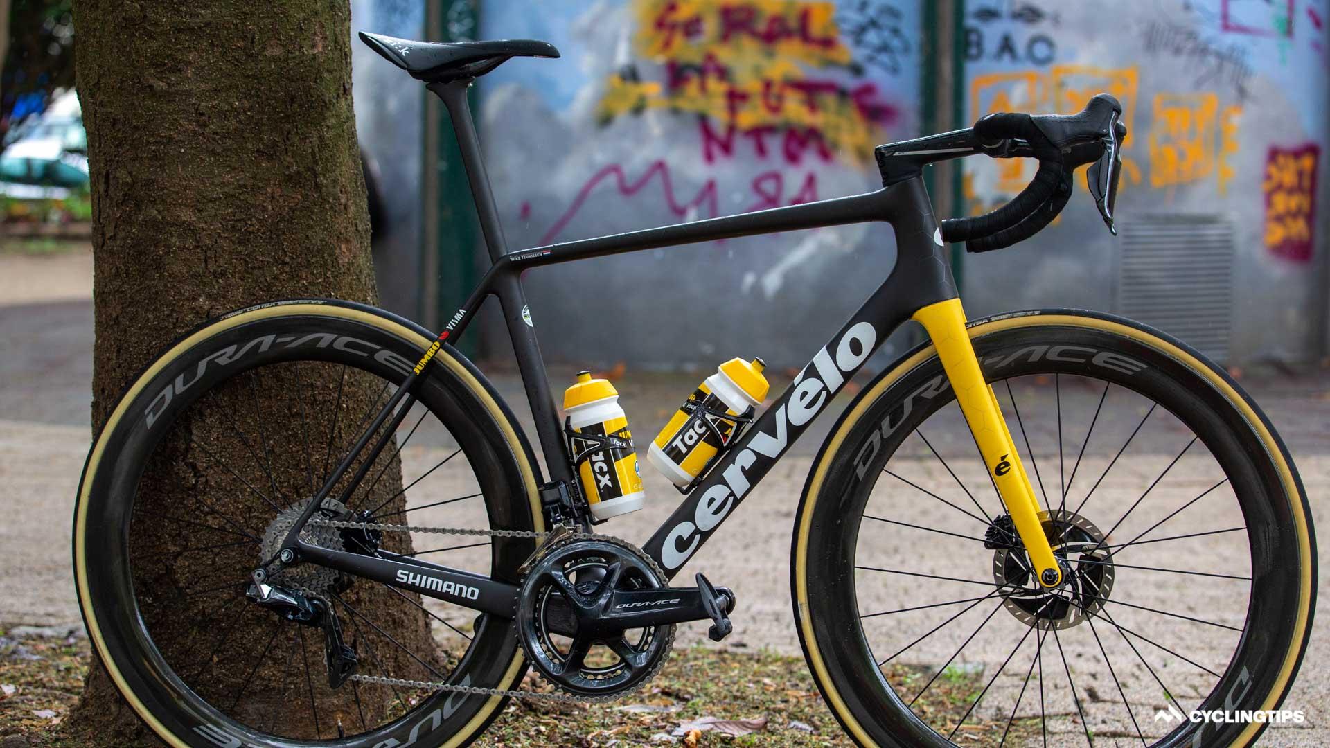 Jumbo-Visma bringt neuen Cervelo R5 in Teamfarben auf den Markt