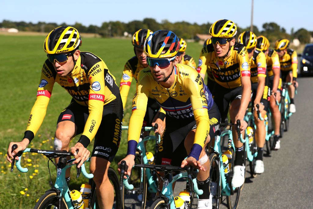 Tour de France: Jumbo-Visma left counting the cost after devastating crash on stage 1