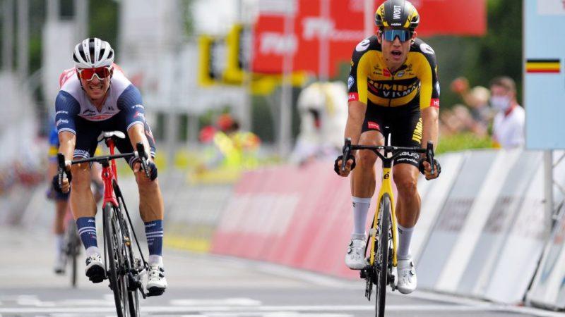 Wout van Aert wins Belgian men's road title