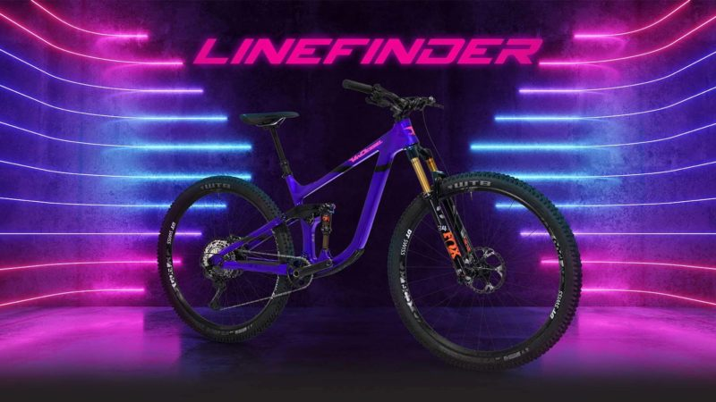 Van Dessel finds the way to adjustable reach with the new Linefinder Short Travel 29er