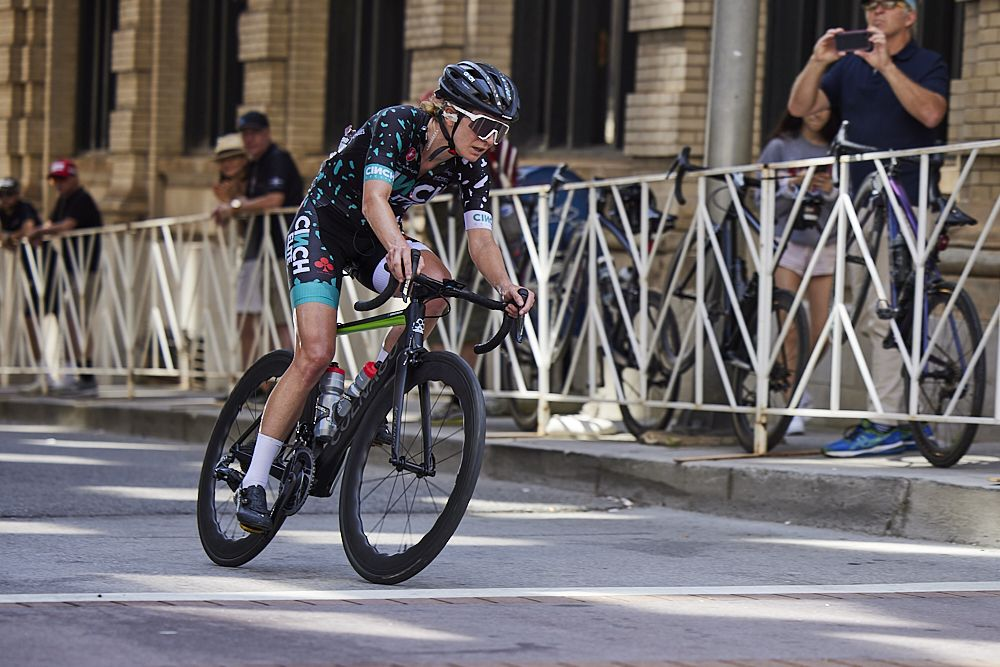 De Crescenzo scores new team contract with gritty ride at US Pro Road Nationals