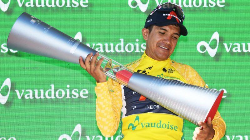 Richard Carapaz: Tour de Suisse win gives me confidence