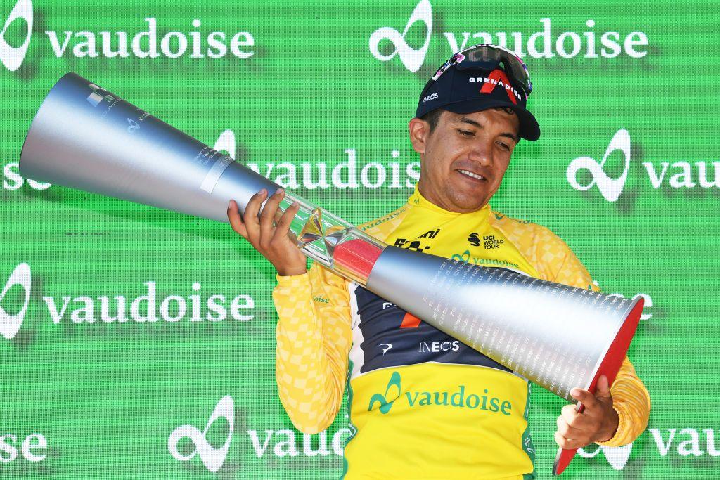 Richard Carapaz : la victoire au Tour de Suisse me donne confiance