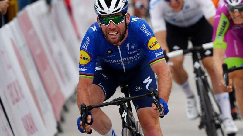 Mark Cavendish skød et langskud for at erstatte den skadede Sam Bennett i Tour de France