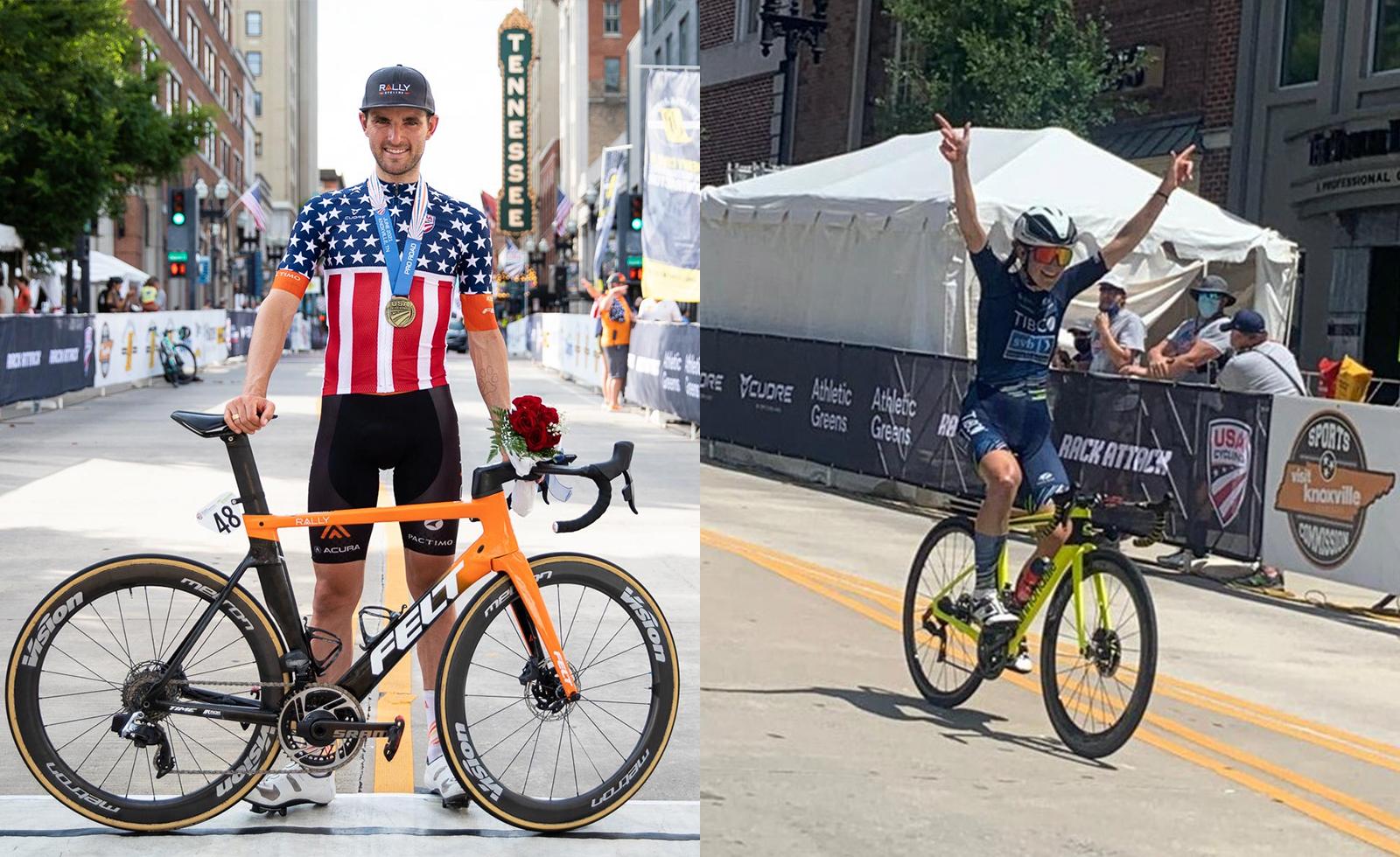 Lauren Stephens und Joey Rosskopf sind die neuen US-Straßenmeister