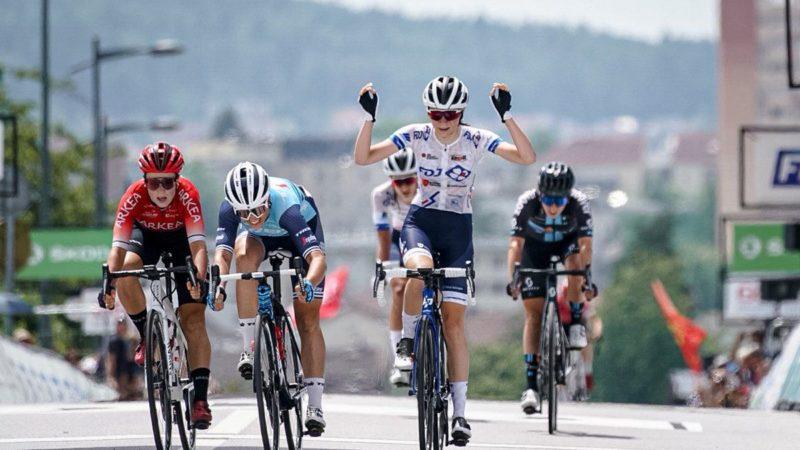Evita Muzic vinder fransk kvinders vejløbstitel