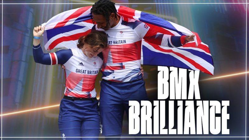 Juegos Olímpicos de Tokio: revive cómo Bethany Shriever y Kye Whyte de GB ganaron medallas históricas de BMX