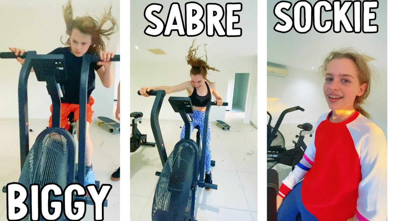 NORRIS NUTS EXERCISE BIKE Challenge #shorts