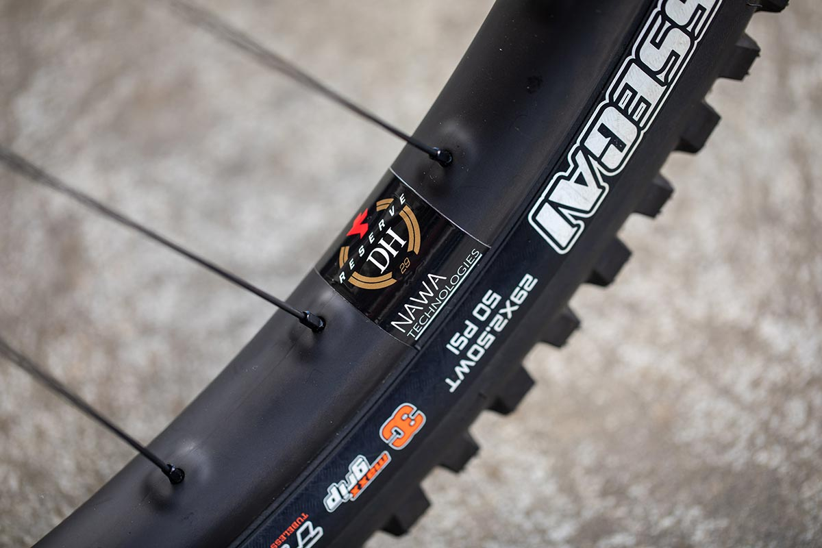 Santa Cruz Syndicate to run race-only Reserve DH Wheels with 'nano velcro' technology