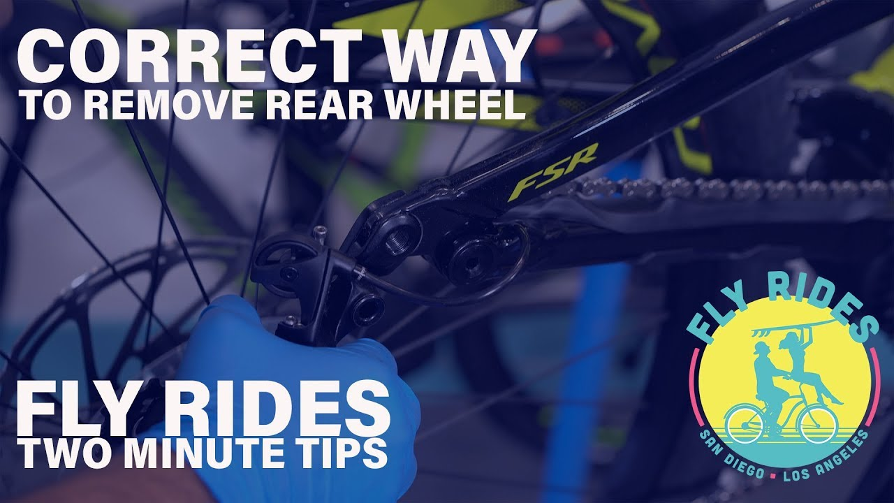 How to Remove the Rear Wheel on Your E-Bike | Fly Rides Two Minute Tips!