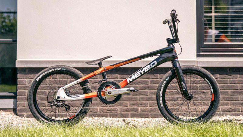 Olympische hoopvolle van Gendt's unieke 2-speed BMX fiets