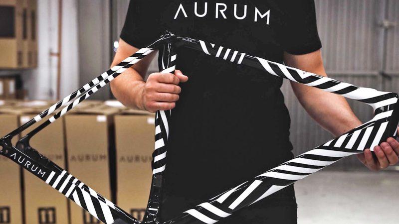 Aurum Zevra limited edition racefiets van Basso & Contador
