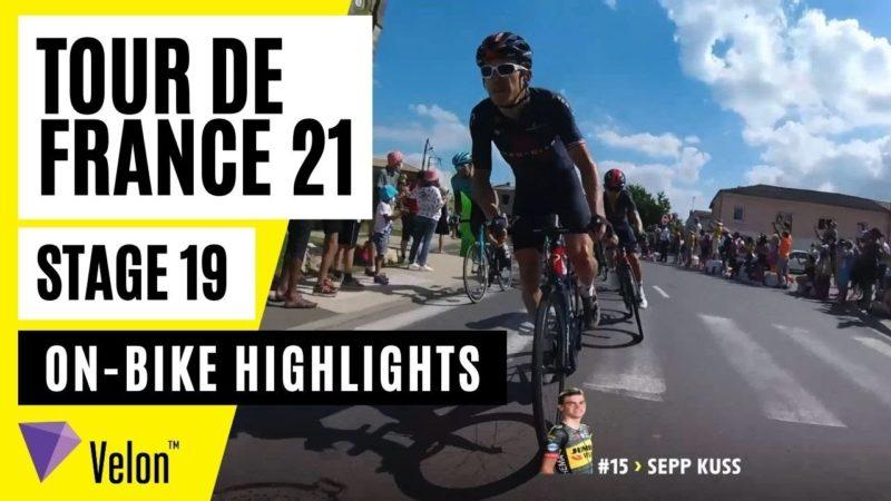 Tour de France 2021: Stage 19 On-Bike Highlights