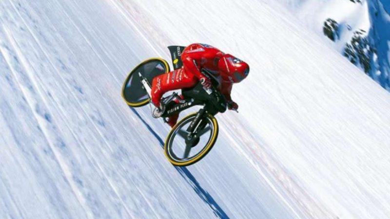 Mountain Bike Speed Record