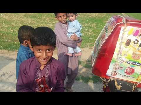 Ice cream bike seller in Pakistan/Kashmir/Ice cream music