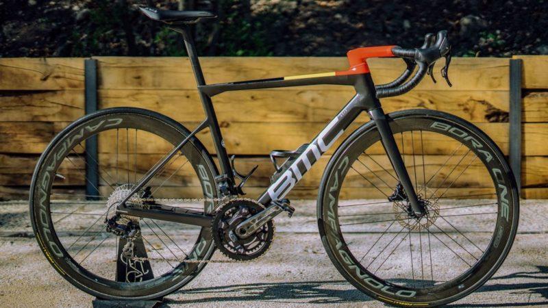 Jeux olympiques de Tokyo : BMC Teammachine SLR01 de Greg Van Avermaet