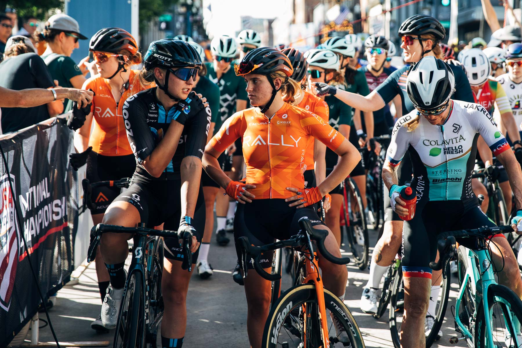 Giro d'Italia Donne: Katie Clouse shocked and excited about grand tour debut