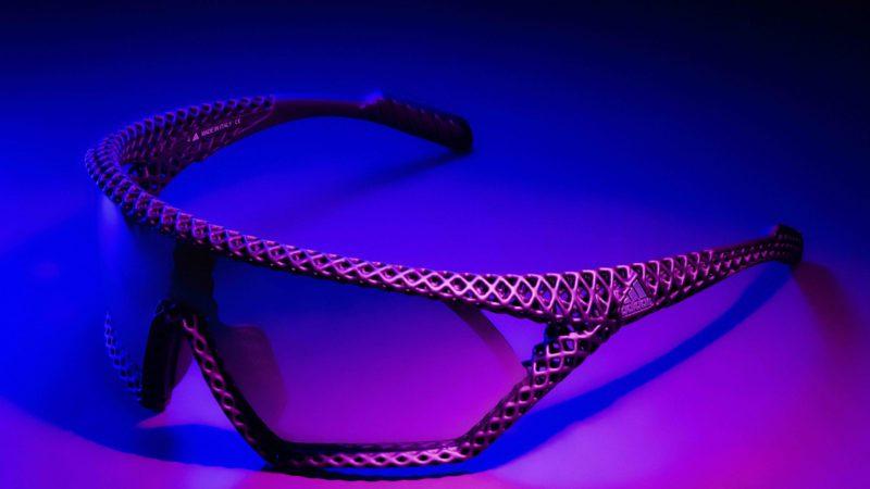 Adidas 3D CMPT: Leichteste, am meisten belüftete bedruckte Brille
