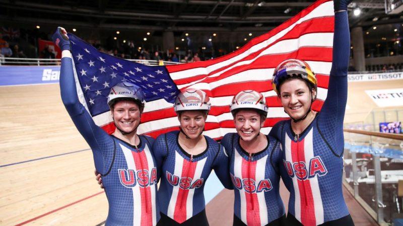 Le duo de rallye cycliste prêt pour ses débuts aux Jeux Olympiques en poursuite par équipes féminine