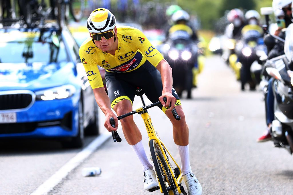 Tour de France leader Van der Poel rejects idea of becoming a future GC contender