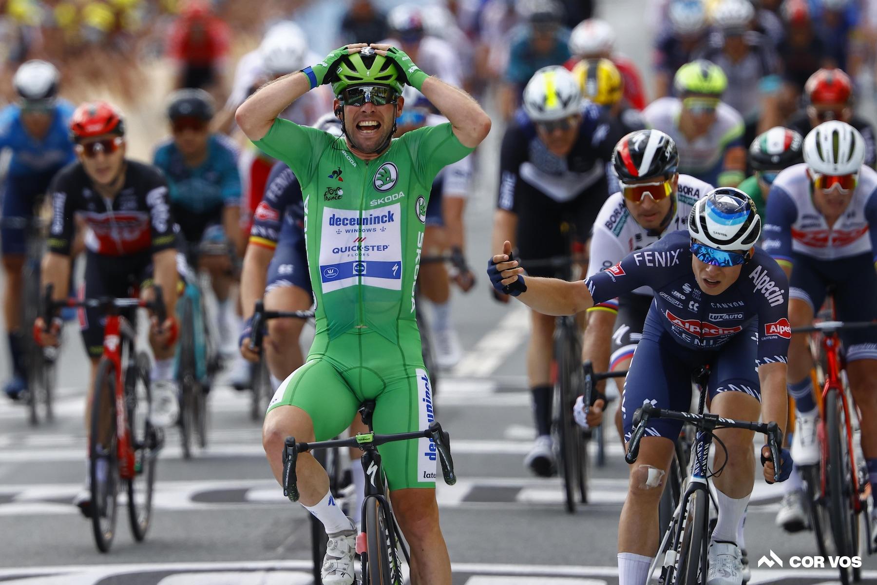 Cavendish corre hacia otra victoria en la etapa 6 del Tour de Francia