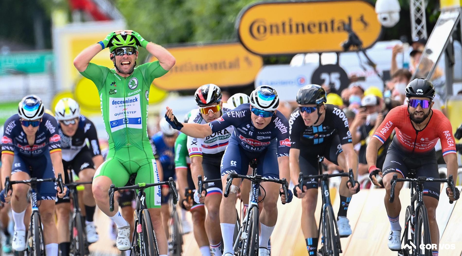 Cavendish sprinter til endnu en sejr på 6. etape i Tour de France