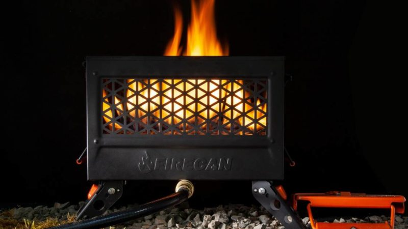Forest-Safe Campfires? Ignik Launches Propane Fire Pit