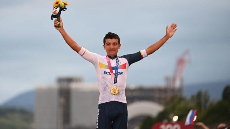 Richard Carapaz: Olympisch goud is het beste wat er in mijn leven kan gebeuren