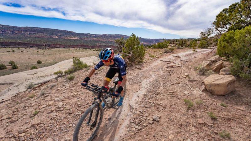 Watch Pete Stetina Grind Gravel FKT on the Kokopelli Trail