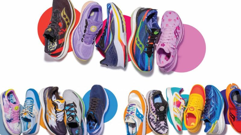Saucony Recruits Kid Artists to Design Shoes for Its 'Run For Good' Program