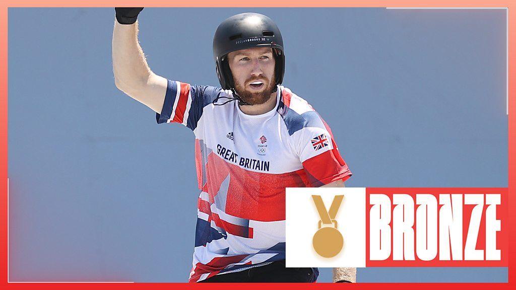 Jeux olympiques de Tokyo : le britannique Declan Brooks remporte la médaille de bronze lors de la première finale masculine de BMX freestyle