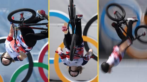 BMX 360 backflip: The trick that secured Charlotte Worthington Team GB gold