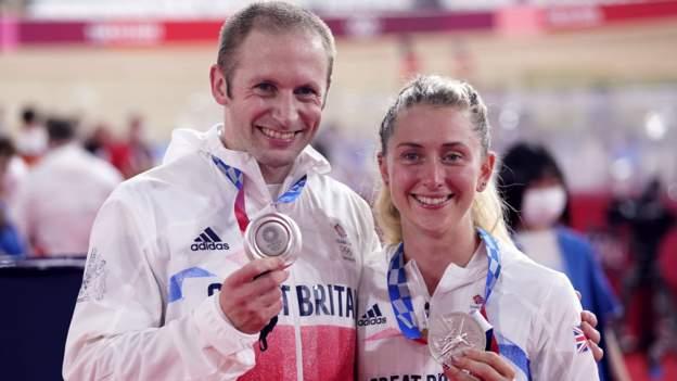Juegos Olímpicos de Tokio: Jason y Laura Kenny reclaman la plata en ciclismo en pista