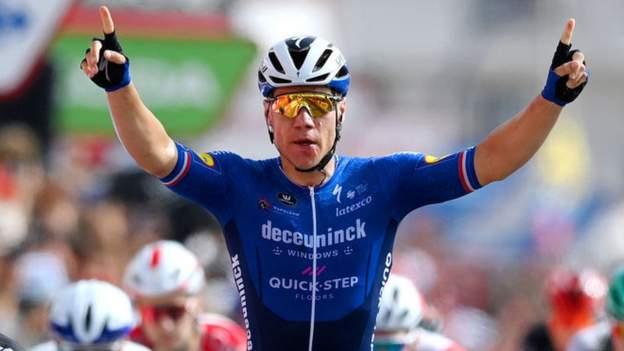 Vuelta a Espana: Fabio Jakobsen holt zweiten Etappensieg der Woche, ein Jahr nach dem Koma