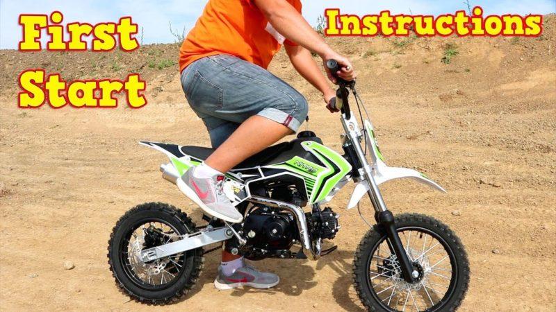 Pit Bike 110cc – First Start – Instructions – Storm Cross Semi-Auto from Nitro Motors